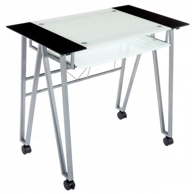 Компьютерный стол Trian со стеклянной столешницей