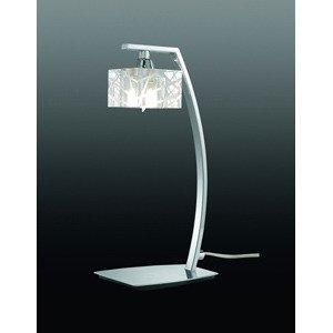 Настольная лампа декоративная Zen Chrome
