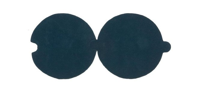 Круглый ковер NOW CARPETS Necklace из 100% новозеландской шерсти диаметр 100 см