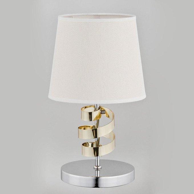 Настольная лампа Sandra с бежевым абажуром