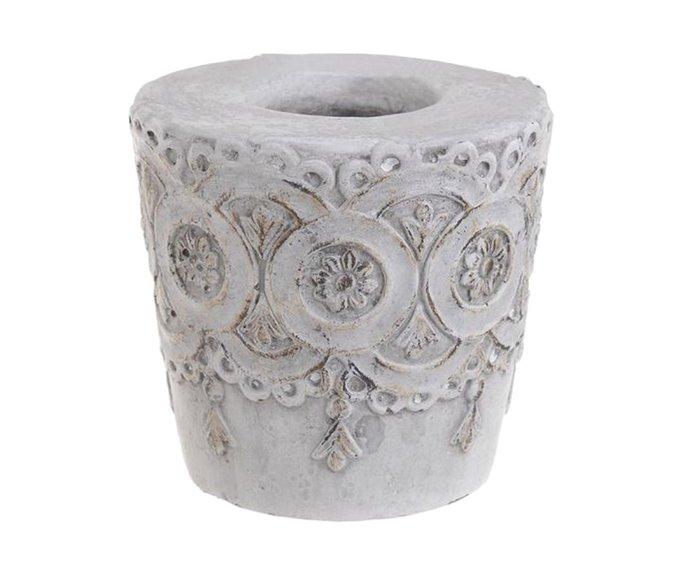Подсвечник из керамики