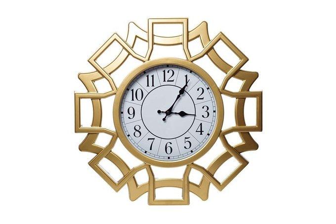 Часы настенные круглые в обрамлении