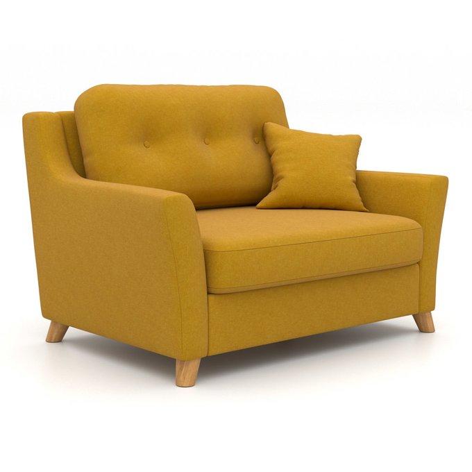 Кресло-кровать Raf MTR желтого цвета