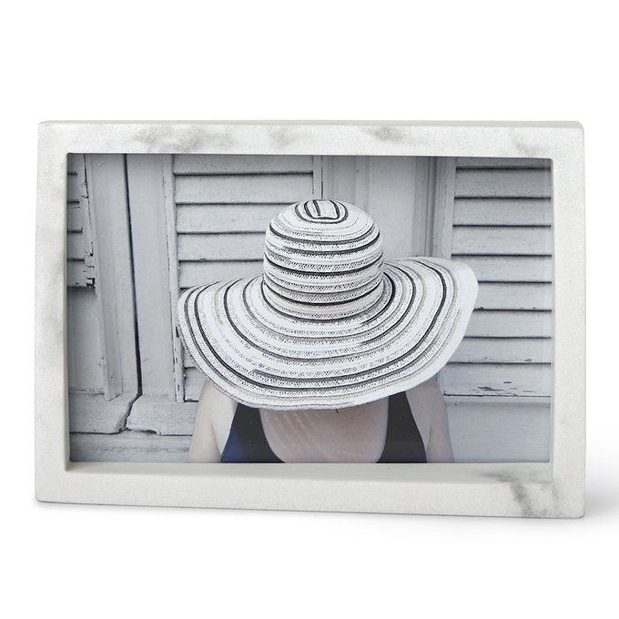 Рамка для фотографий Edge 10х15 белого цвета