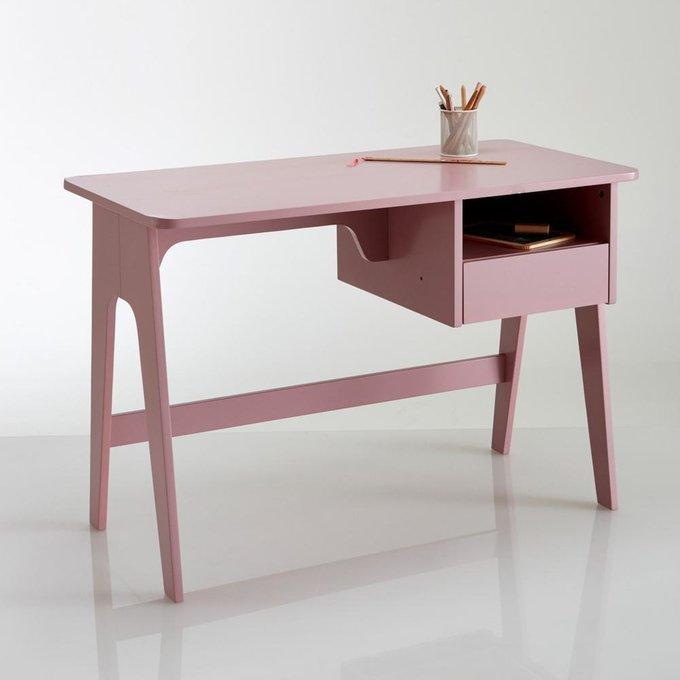 Письменный стол Adil розового цвета