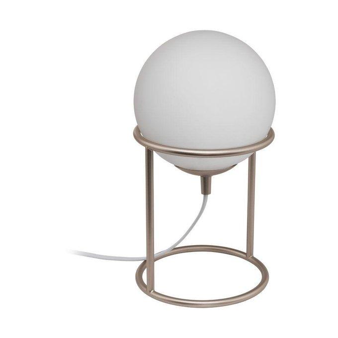 Настольная лампа Castellato из металла и стекла