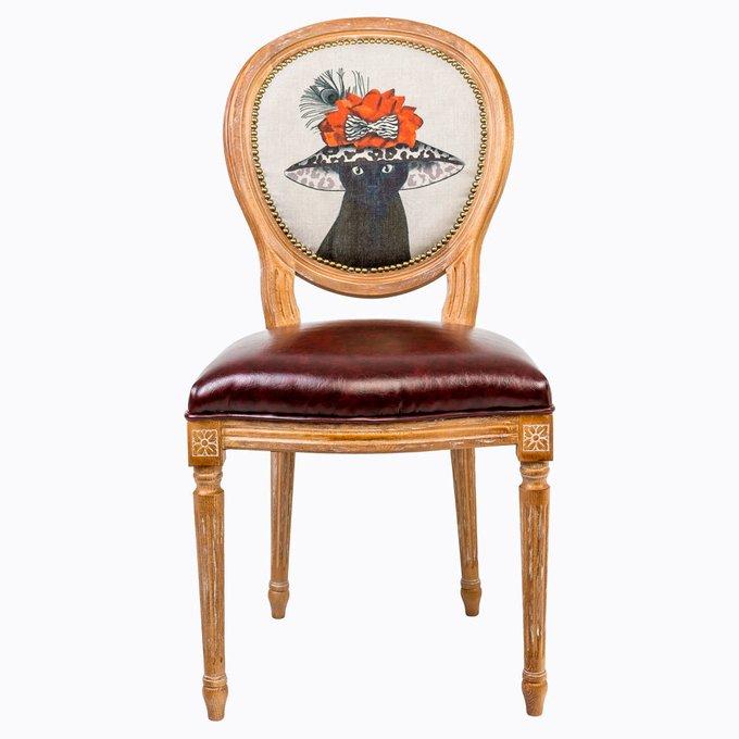 Стул Мисс Фэшн с сиденьем и спинкой из экокожи
