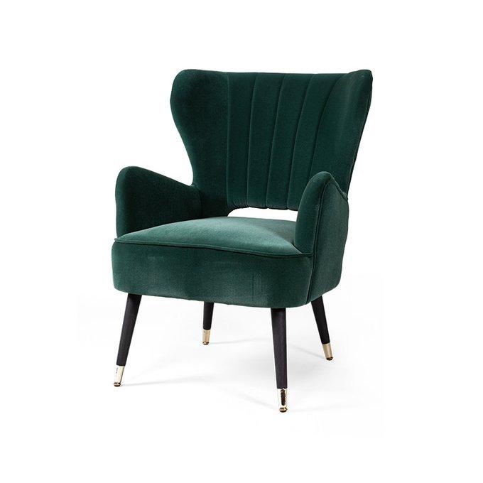 Кресло Abele зеленого цвета