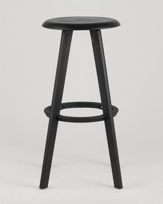 Барный стул Hoker черного цвета