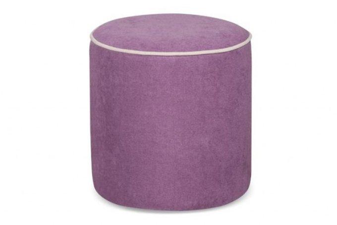 Мягкий пуф цилиндрической формы