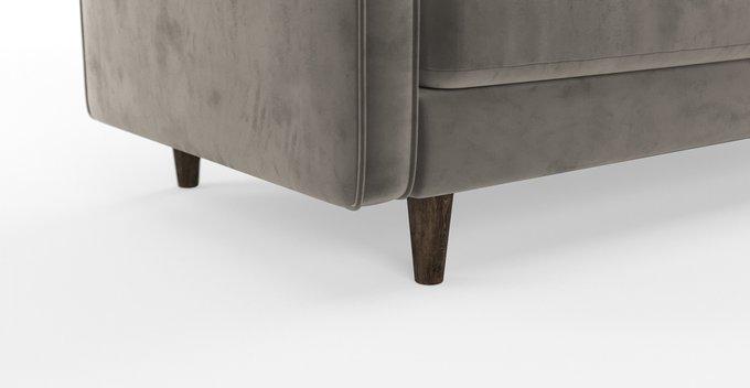 Трехместный диван SCOTT ST серый