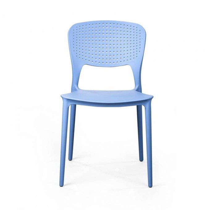 Стул Rene голубого цвета