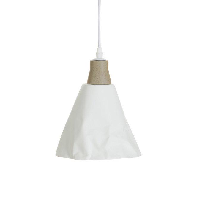 Подвесной светильник Cristela белого цвета