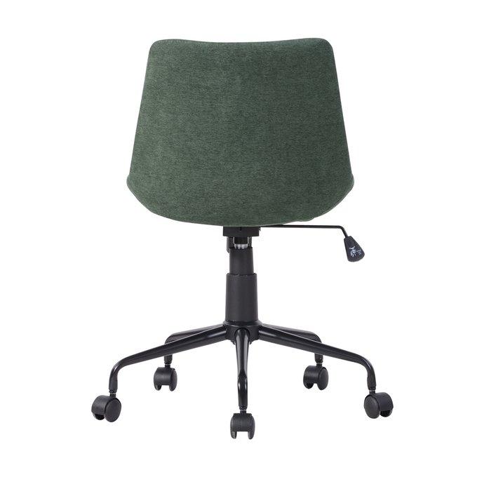 Кресло офисное Кайзер зеленого цвета