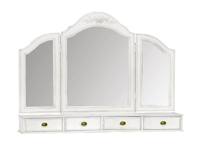 Зеркало для туалетного столика  Снежный Прованс