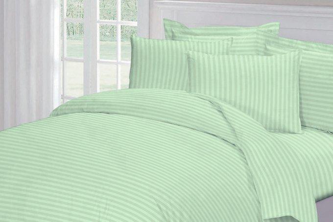 Комплект постельного белья Страйп-сатин