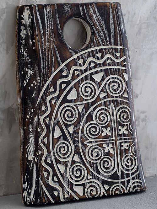 Разделочная доска Papua Ash Coal White Ii из массива ясеня
