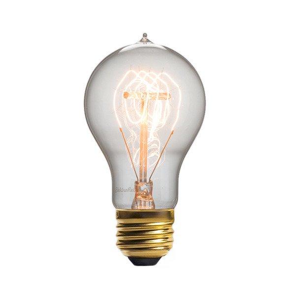 Винтажная лампа Эдисон Quad Loop
