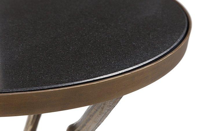 """Журнальный столик contemporary """"Raymond"""" на металлических ножках в виде палок с сучками"""