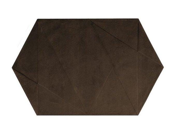 Ковер Mire тёмно-коричневого цвета 150x240