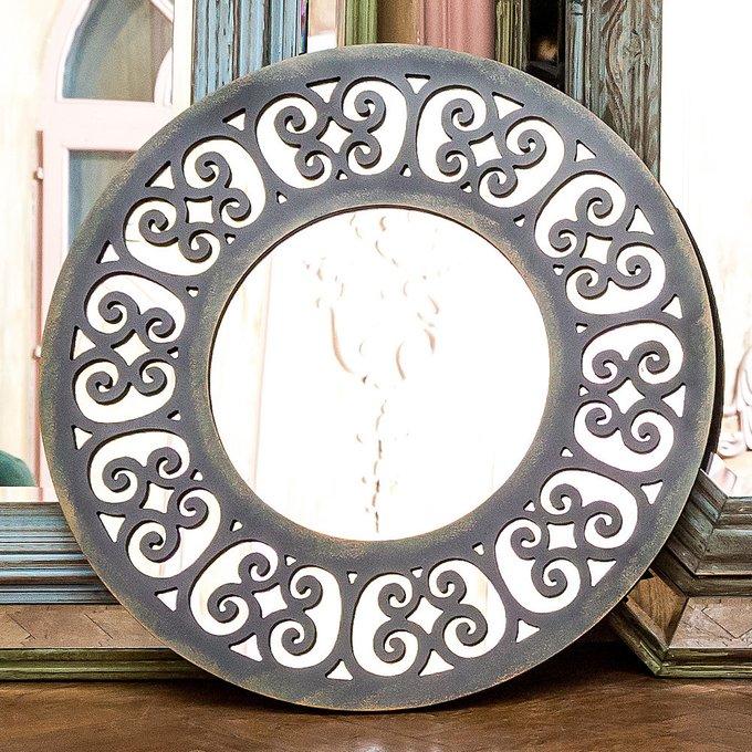 Настенное зеркало Бомбей с кружевным узором рамы