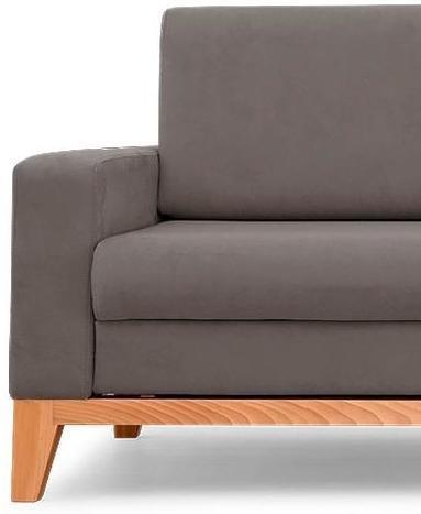 Диван-кровать Нордик Latte серого цвета