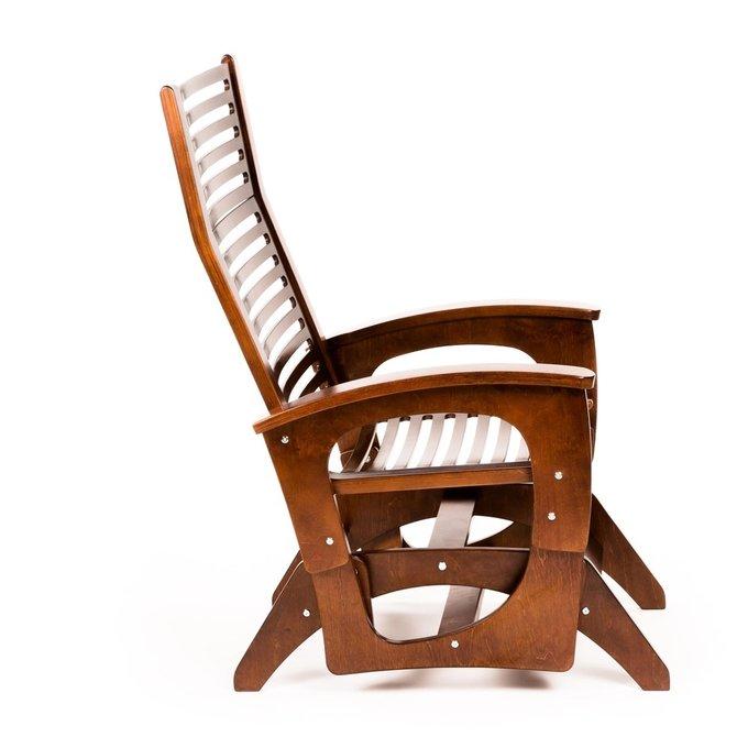Кресло-глайдер Байкал цвета вишни