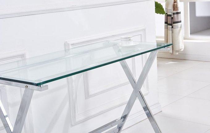 Письменный стол со стеклянной столешницей