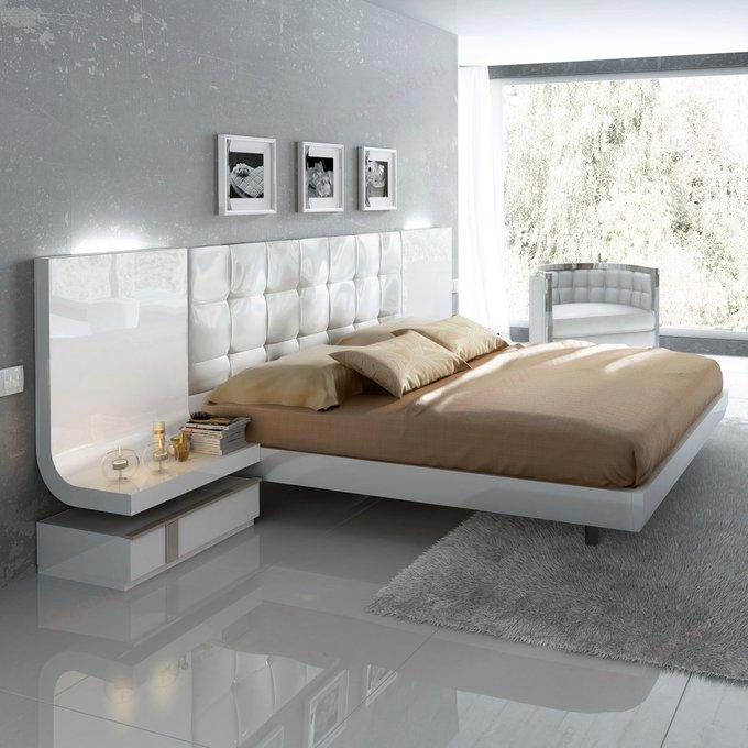 Кровать двухспальная Granada с подсветкой 180х200