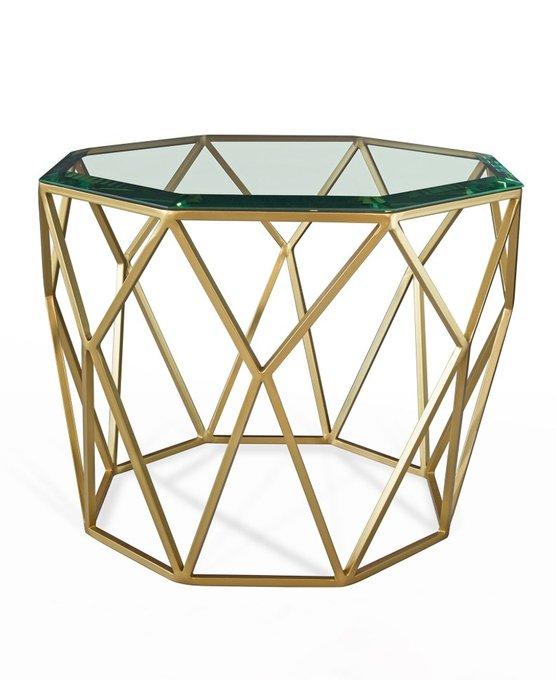 Стол Crown со стеклянной столешницей