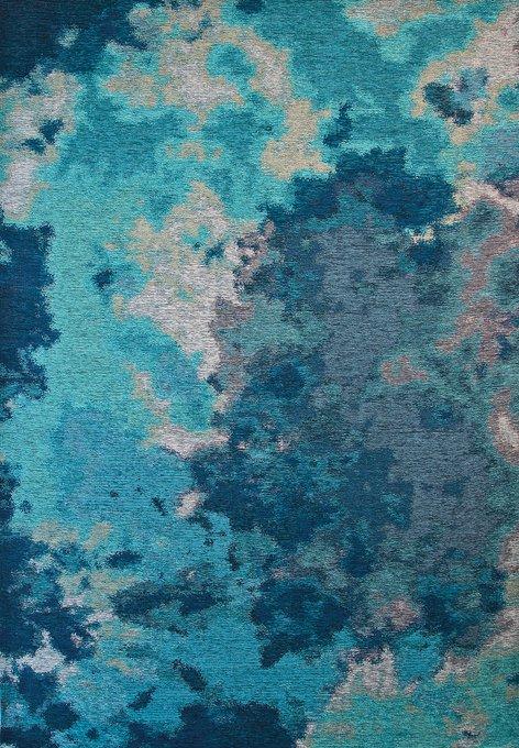 Ковер Alina Delphi синего цвета 135х200