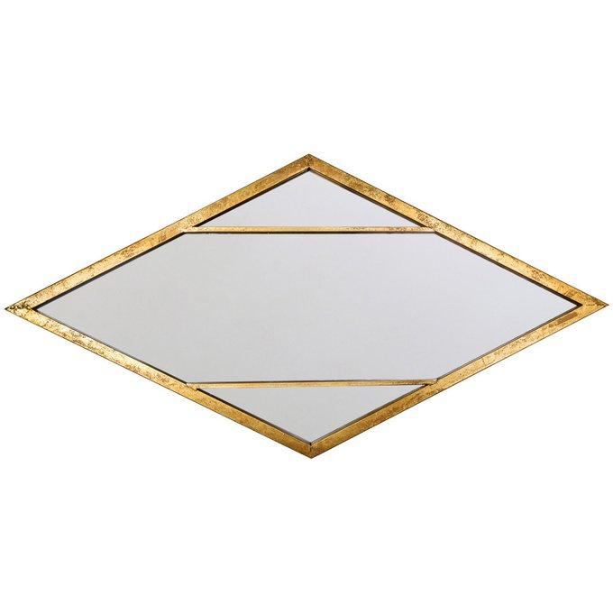 Настенное зеркало Санторини ромбовидной формы