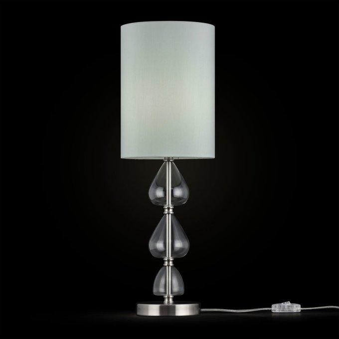 Настольная лампа Armony с декоративными стеклянными элементами