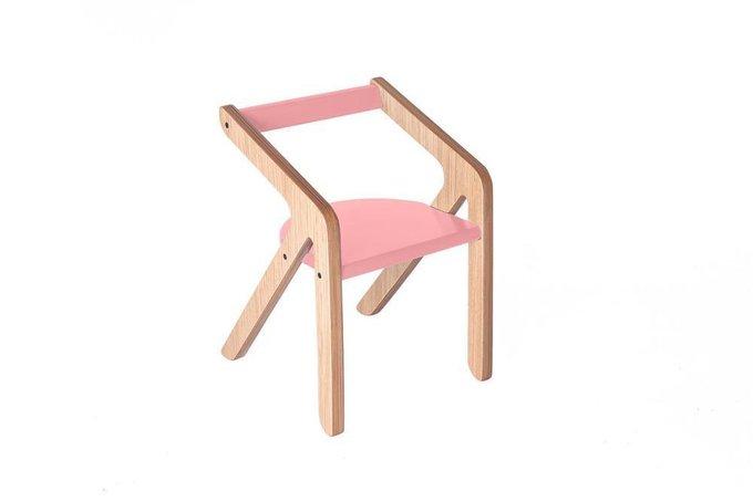 Стул Malevich розового цвета 1.5-5 лет