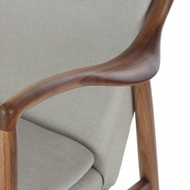 Кресло NV45 серого цвета
