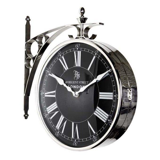 "Часы настенные Eichholtz ""Clock Regent Street Large"" из металла"