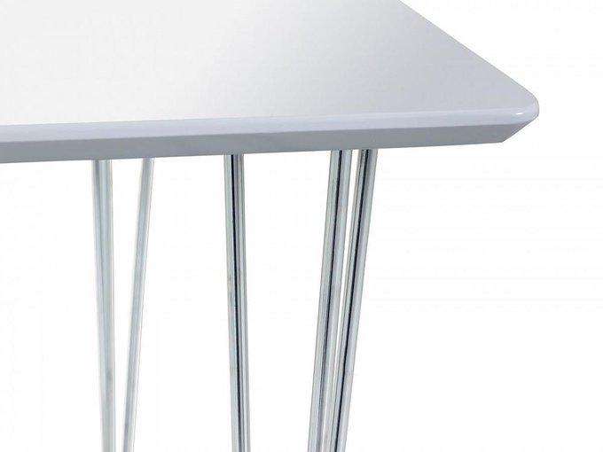 Обеденный стол Gloss с глянцевой эмалированной столешницей