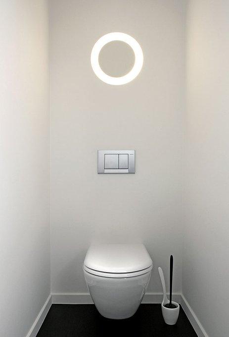 Встраиваемый светильник Modular Downut mini из термопластика