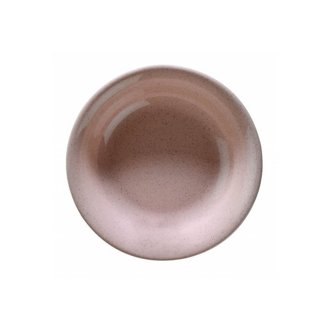 Столовый сервиз из фарфора на шесть персон NC Harlek розового цвета
