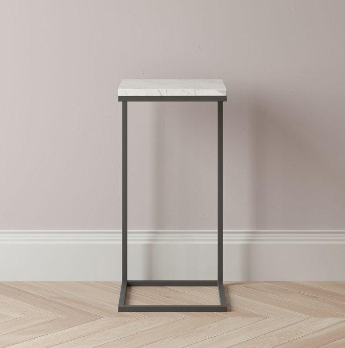 Придиванный столик Khris с мраморной столешницей
