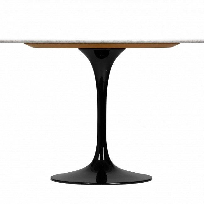 Круглый обеденный стол Tulip со столешницей из ценного каррарского мрамора