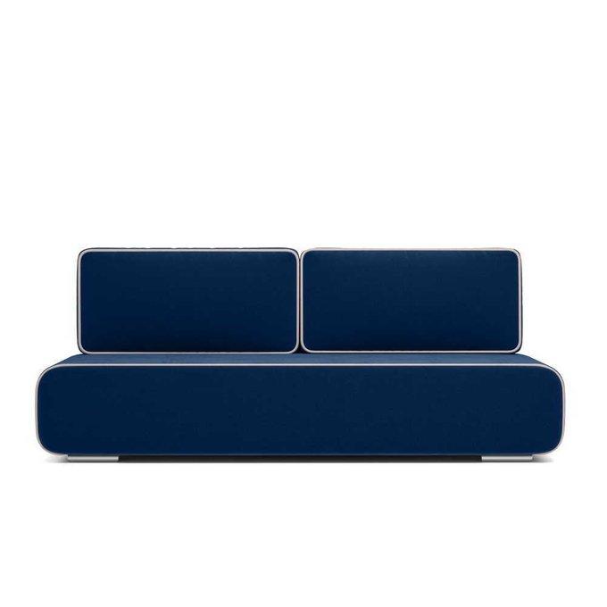 Диван-кровать Рокки синего цвета