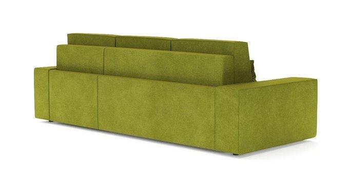 Угловой диван-кровать Модесто зеленого цвета