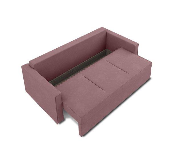 Диван-кровать Macao темно-розового цвета