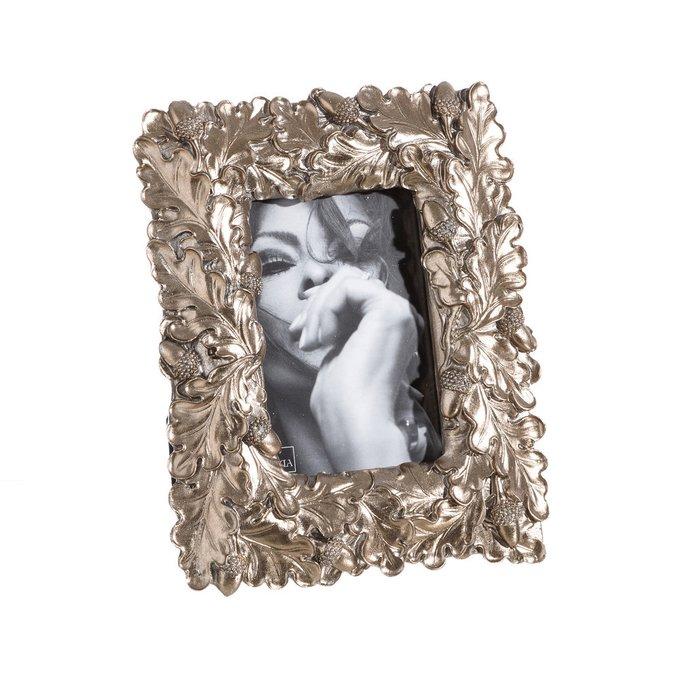 Фоторамка серебряного цвета 10x15