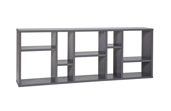 Полка навесная De Eekhoorn Wall Shelf Horison With Compartments