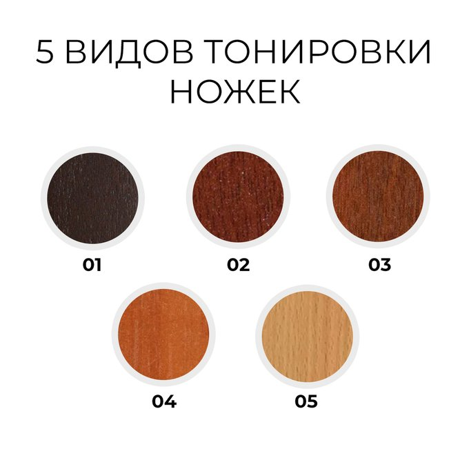 Двухспальная кровать Кристина коричневого цвета 180х200