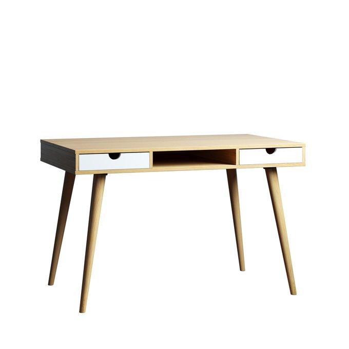 Консольный стол Scandinavia 120х45 с белыми ящиками