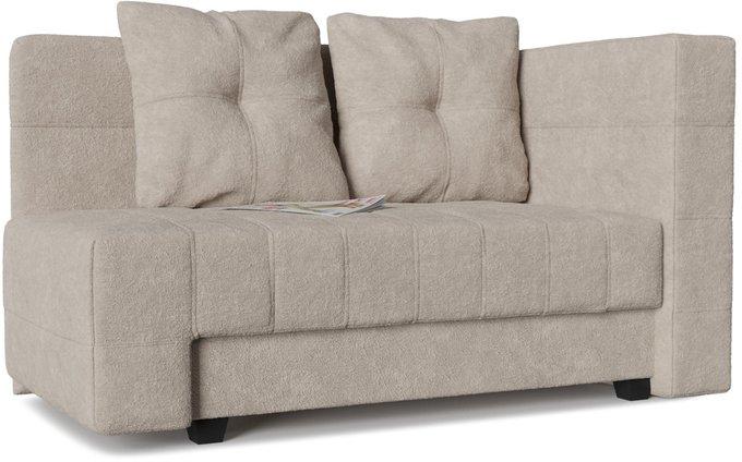 Диван-кровать прямой Корфу NEXT Dove бежевого цвета