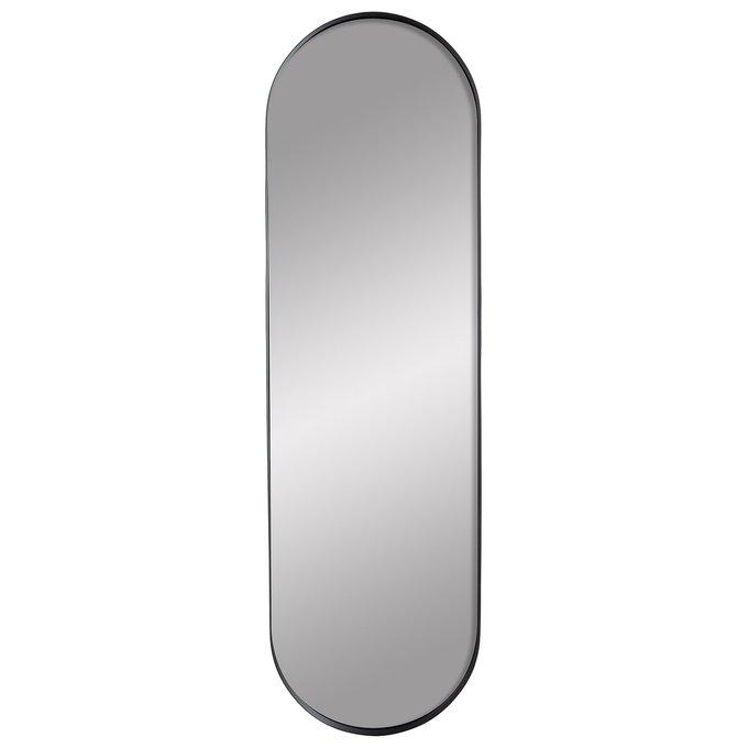 Зеркало настенное Мальме блэк черного цвета